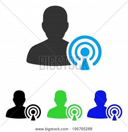 podcast creator vector icon style vector photo bigstock rh bigstockphoto com vector creator apk vector creator online free