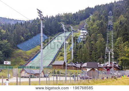Wielka Krokiew Ski Jumping Venue In Zakopane, Poland