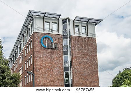 BREMEN GERMANY - JULY 15, 2017: The IKK is part of the health unsurance system by law of Germany