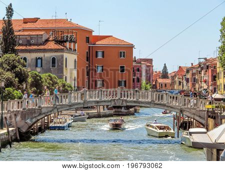 Venice - Beautiful Canal In Venice