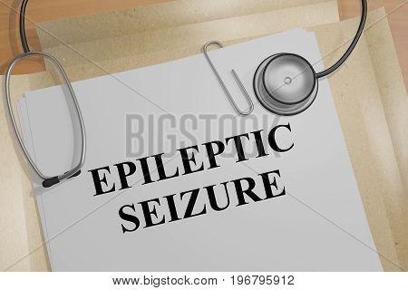 Epileptic Seizure - Medical Concept
