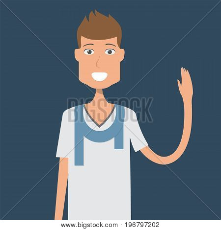 Casualman Character | set of vector character illustration use for human, profession, business, marketing and much more.The set can be used for several purposes like: websites, print templates, presentation templates, and promotional materials.