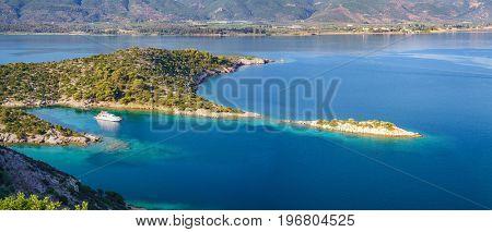 Small island in Aegean sea, Greece