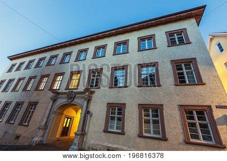 Baden Baden City Hall. Baden-Baden Baden-Wurttemberg Germany.