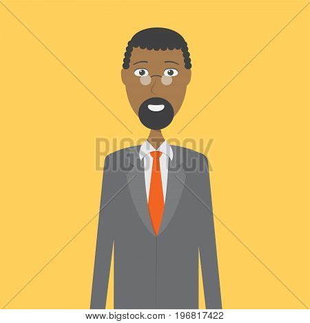 Lawyer Character Male | set of vector character illustration use for human, profession, business, marketing and much more.The set can be used for several purposes like: websites, print templates, presentation templates, and promotional materials.