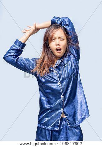 Asian Girl Wake Up