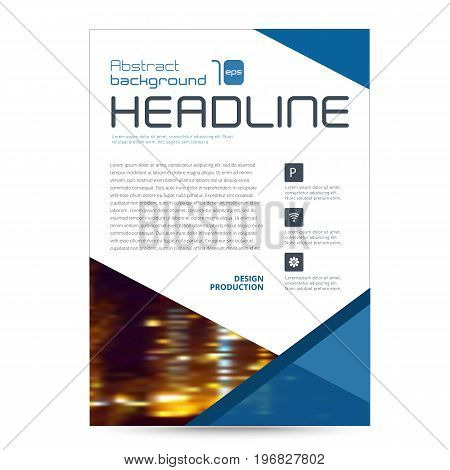 collection set cover business brochure vector design, Leaflet advertising abstract background, Modern poster magazine layout template, Annual report for presentation.