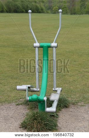 Outdoor Gym Fitness Ski Stepper Swing Equipment.
