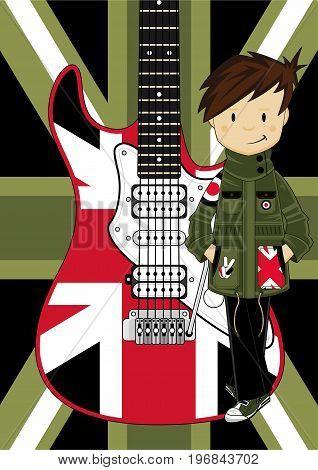 Mod Boy & Guitar