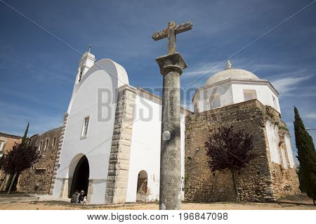 Portugal Algarve Loule Church Santo Antonio