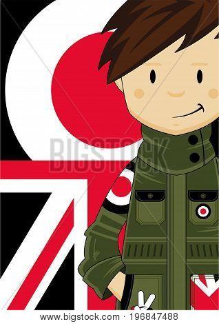 Union Jack Mod Boy