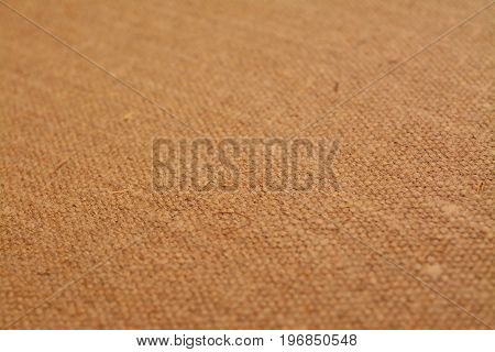 close-up shot of a canvas texture background