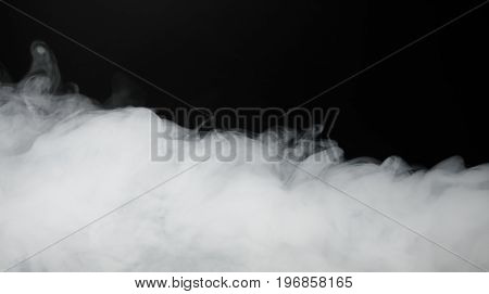 smoke background and dense fog