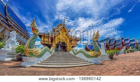 Wat Ban den Temple Maetang Chiangmai Thailand