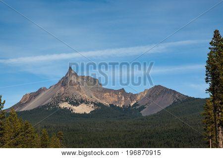 Mount Tielson, Oregon