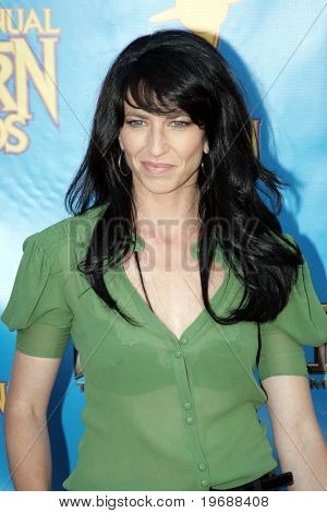 UNIVERSAL CITY, CA - JUNE 24: Actress Claudia Black attends the 34th Annual Saturn Awards at the Hilton Hotel June 24, 2008 in Universal City, California.