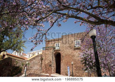 Portugal Algarve Silves Old Town Castelo