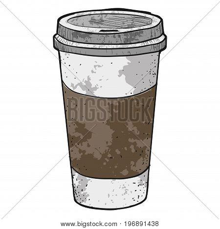 Isolated Retro Coffee