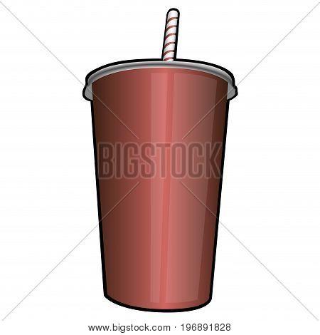 Isolated Retro Soda