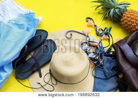 Woman Things Clothes Accessories Holiday Concept
