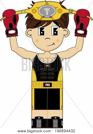 Little Boxer With Belt 2011.eps