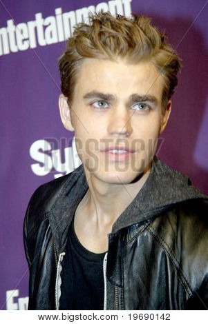 SAN DIEGO, CA - JULY 24:  Paul Wesley arrives at the SyFy/EW party held July 24, 2010 at the Hotel Solamar in San Diego, CA.