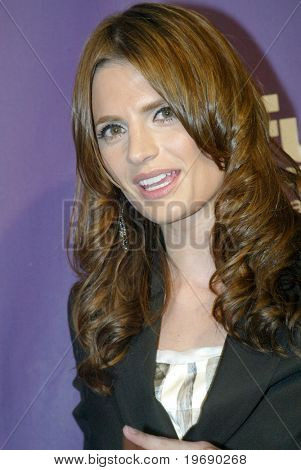 SAN DIEGO, CA - JULY 24: Stana Katic arrives at the SyFy/EW party held at the Solamar Hotel on July 24, 2010 in San Diego, CA.