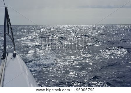 Voyage In Atlantic Ocean.