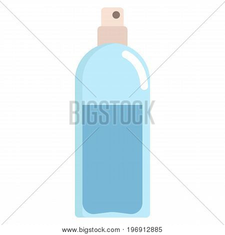 Hair spray aerosol icon, vector illustration flat style design isolated on white. Colorful graphics
