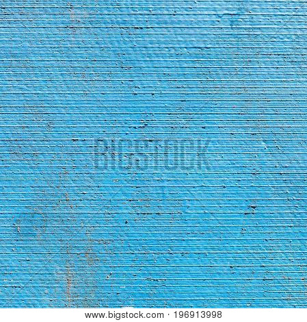 Shabby Blue Wall From Fibre Cement Board