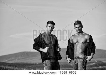 Twins Men Or Bodybuilders