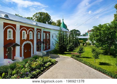 Christianity cathedral in Russia Kostroma city Ipatievsky monastery Cradle of the house of Romanovs