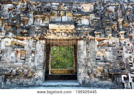 Chicanna, Mexico Temple