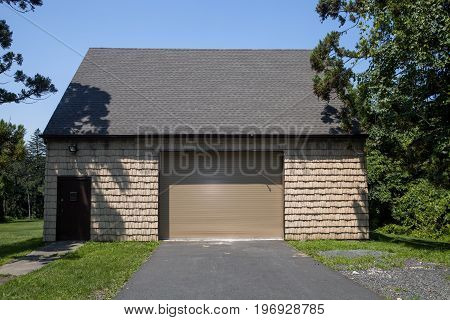 A garage at the Watchung Reservation in New Jersey