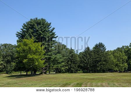 The scenic Watchung Reservation in New Jersey