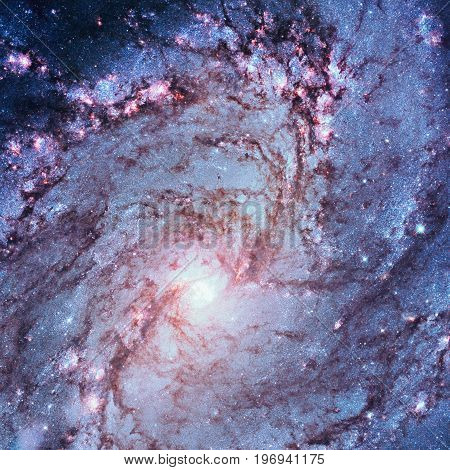 Messier 83, Southern Pinwheel Galaxy, M83 In The Constellation Hydra..elements Of This Image Are Fur