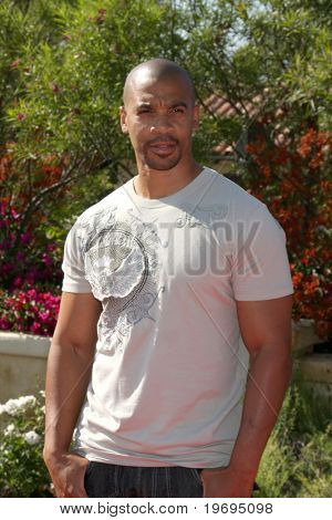 LOS ANGELES  JULY 11: Aaron Spears arrives at the Birgit C. Muller Fashion Show at Chaves Ranch on July 11, 2010 in Los Angeles, CA