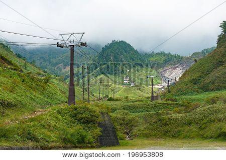 Sanroku Ropeway On Kusatsu Mountain