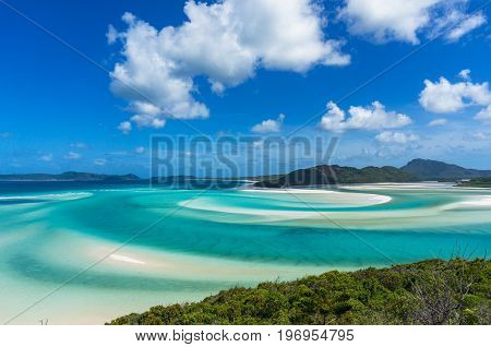 Whitsunday Tropical Island And Hill Inlet Lagoon