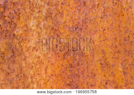 Metal rust texture or rusty metal background. Metal rust for design. Real metal rust. Grunge texture of metal rust
