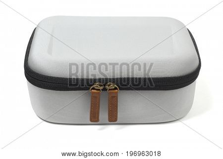 Accessory Carrying Case on White Background