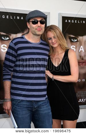 LOS ANGELES - JUL 19:  James Haver with his girlfriend arrive at the