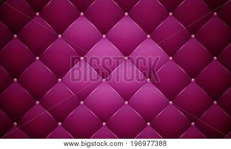 Purple luxury smooth leather texture. Vector illustration.