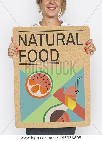 Natural Food Fruit Images Word