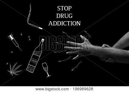 Treatment of drug dependence. Stop drud addiction.
