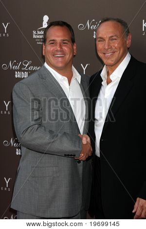 LOS ANGELES - JUL 22:  Mark Light & Neil Lane arrives at the Neil Lane Bridal Collection Debut at Drai's at The W Hollywood Rooftop on July22, 2010 in Los Angeles, CA ....