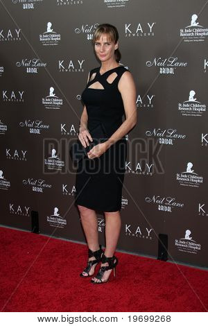 LOS ANGELES - JUL 22:  Rachel Griffiths arrives at the Neil Lane Bridal Collection Debut at Drai's at The W Hollywood Rooftop on July22, 2010 in Los Angeles, CA ....