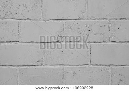 Gray gray brick. Background of gray large brick