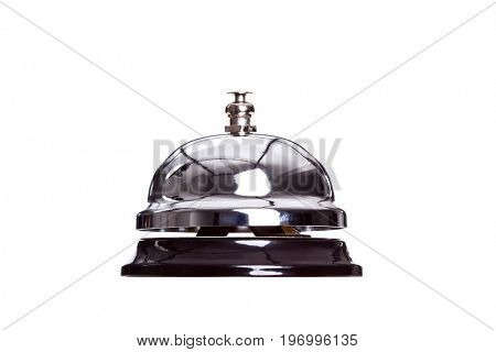 service reception bell isolated on white