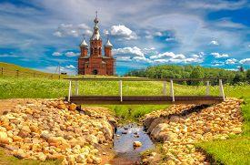 Volgoverkhovye Olginsky Convent Church  Transfiguration In Russia Tver Region